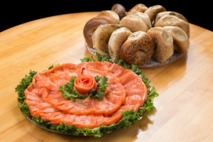 Smoked Salmon Package (10 Person Minimum) - delivery menu
