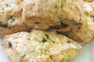 Scones - delivery menu