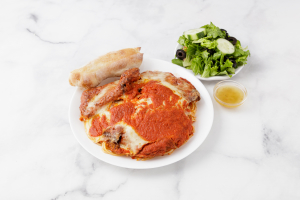 Veal Parmigiana - delivery menu
