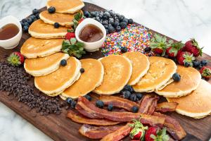 Silver Dollar Pancake Party - delivery menu