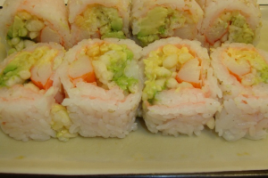 Spicy Crunch California Roll - delivery menu