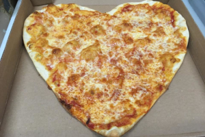 Heart Shaped Pizza - delivery menu