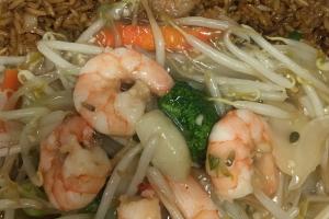 D12. Shrimp Chop Suey Combo  - delivery menu