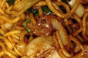 818. Mongolian Beef Chow Mein - delivery menu