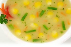 Sweet Corn Soup - delivery menu