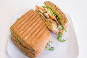 Vegan Portobello Panini - delivery menu