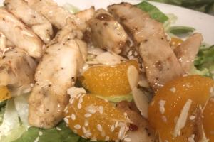 Mandarin Grilled Chicken Salad - delivery menu
