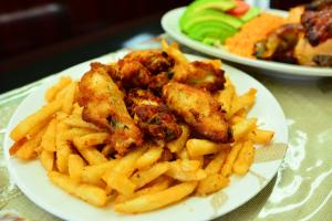 5 Buffalo Wings - delivery menu