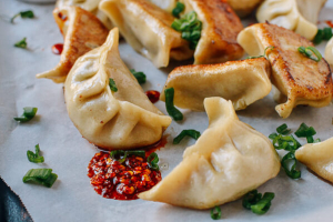 Fried Pot Stickers - delivery menu