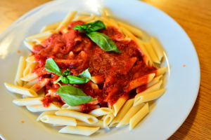 Pasta with Fresh Tomato and Basil - delivery menu