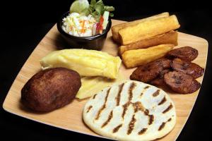 Vegan Sampler - delivery menu