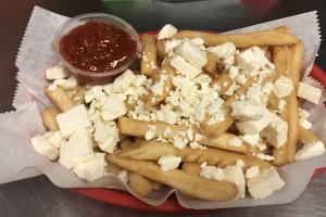 Feta Fries - delivery menu