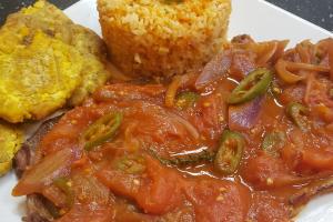 Bistec a la Mexicana - delivery menu
