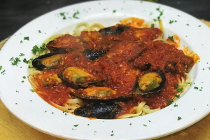 Mussels Marinara Appetizer - delivery menu
