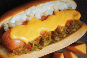 Cheese Dog - delivery menu