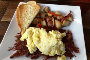 Corned Beef Hash - delivery menu