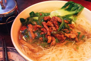 Shredded Beef with Green Pepper Noodle Soup - delivery menu