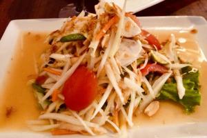 Som Tam Thai Salad ** - delivery menu