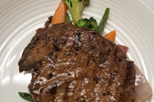 10 oz. Teriyaki Ribeye Steak - delivery menu
