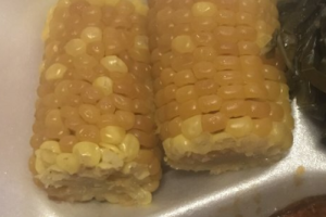Sweet Corn on the Cob - delivery menu