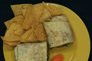 6. Meat and Guacamole Burrito - delivery menu