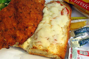 Chicken Breast Parmigiana Sandwich - delivery menu