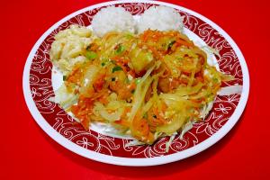 37. Garlic Shrimp Plate - delivery menu