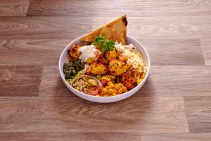 2. Grilled Marinated Chicken Kabob Platter - delivery menu
