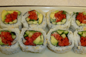 Spicy Veggie Ranch Roll - delivery menu
