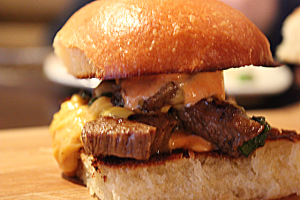 Chef's Best Steak Slider - delivery menu