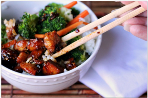 Lunch- Chicken Teriyaki Rice Bowl - delivery menu