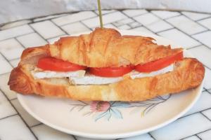 Brie & Tomato Croissant Sandwich - delivery menu