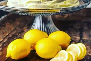 Whole Lemon Cake - delivery menu