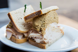 12. Fresh Roasted Turkey and Chopped Liver Sandwich - delivery menu