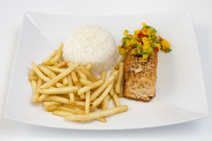 Grilled Salmon Fillet - delivery menu