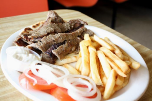 Gyros Special with Fries and a Pop - delivery menu