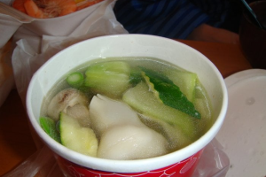 031. Wonton Soup - delivery menu