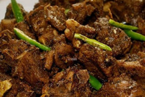 Goat Pepper Fry - delivery menu