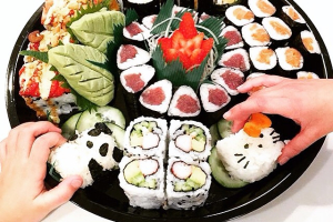 Small Maki Tray: Your choice of 4 rolls - delivery menu