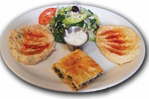 Veggie Plate - delivery menu