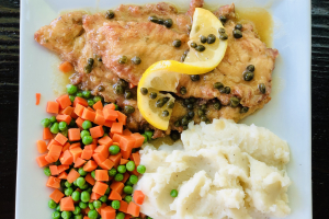 Chicken Picatta - delivery menu