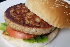Turkey Burger & Side - delivery menu