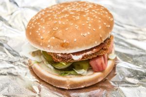 35. Chicken Burger - delivery menu