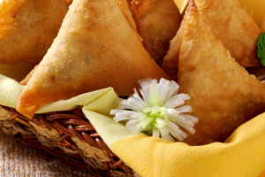 Spinach and Cheese Samosa - delivery menu