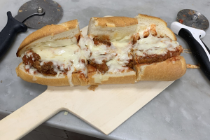 Chicken Parm Hero - delivery menu