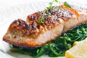 2 portions of Atlantic Salmon Filet - delivery menu