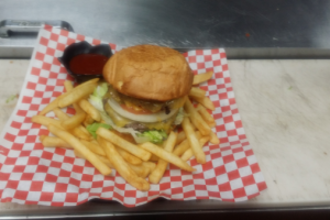 Double Cheeseburger - delivery menu