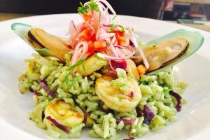 11. Arroz Criollo de Mariscos - delivery menu