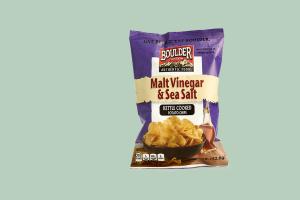 Boulder Canyon Potato Chips - Salt & Vinegar - delivery menu