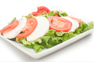 Mozzarella and Roasted Red Pepper Salad - delivery menu